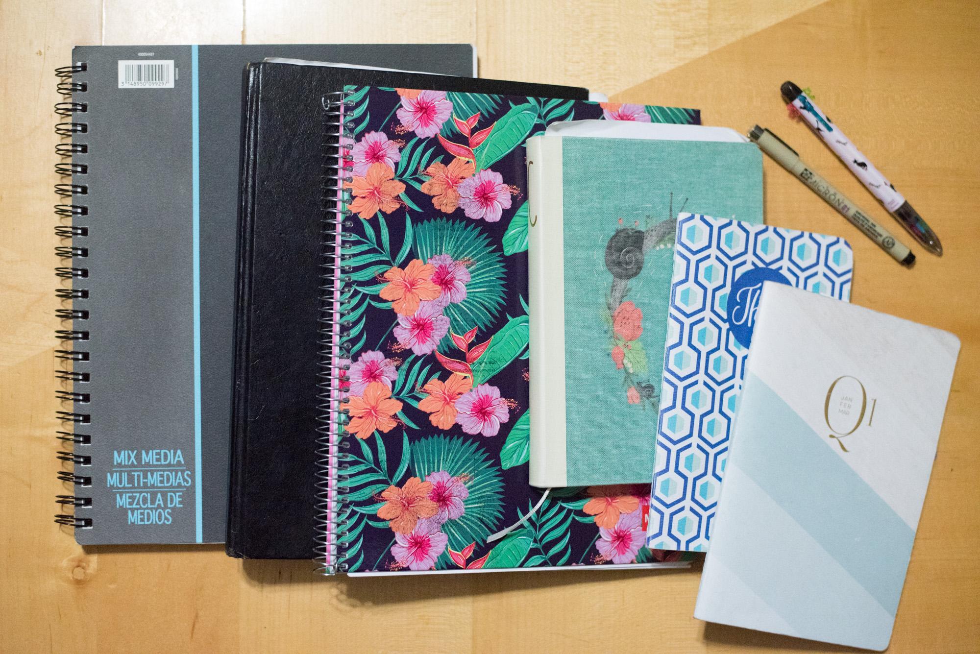 2017 Notebooks