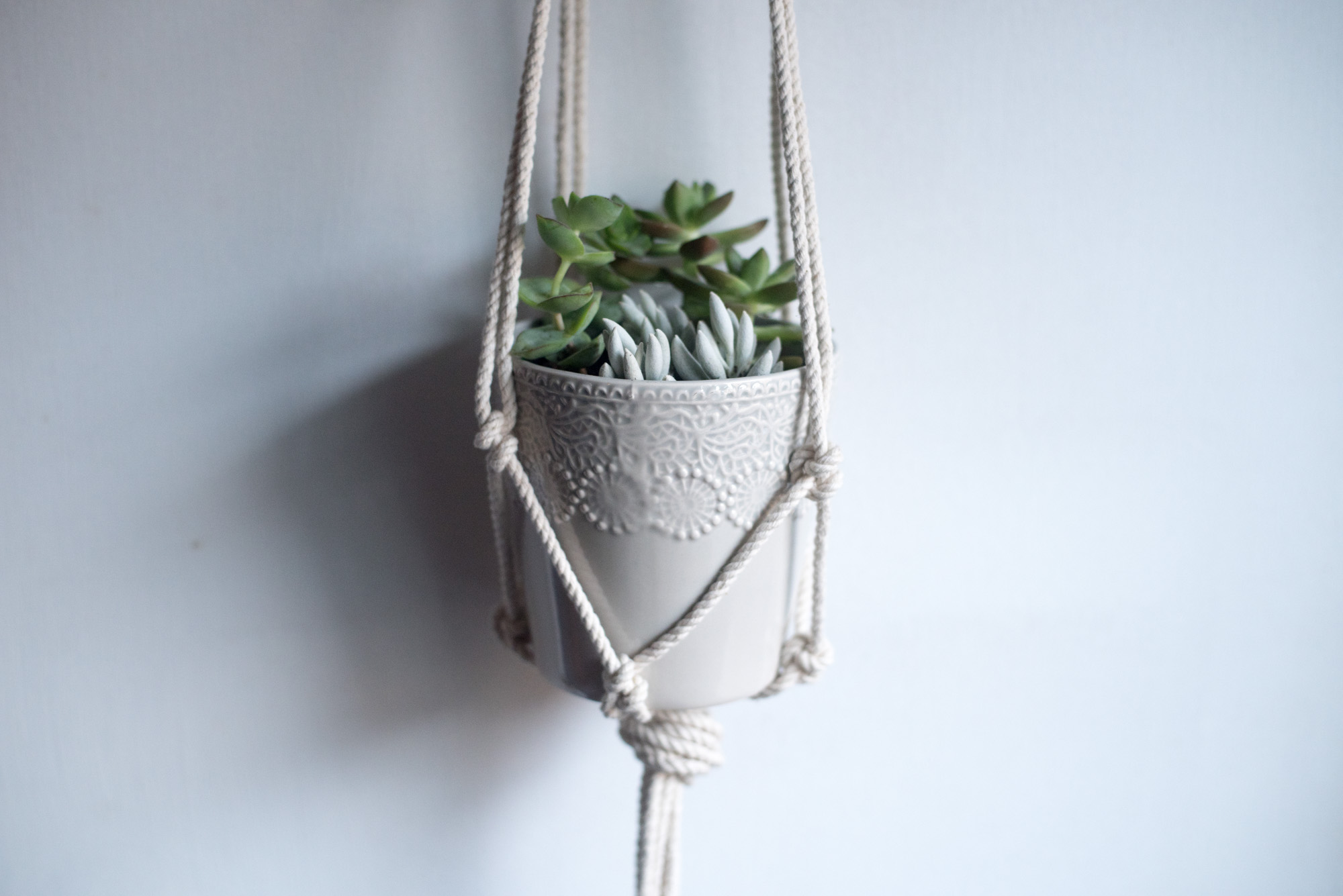 diy macrame hanging planter diy macrame hanging planter likely by sea 6925