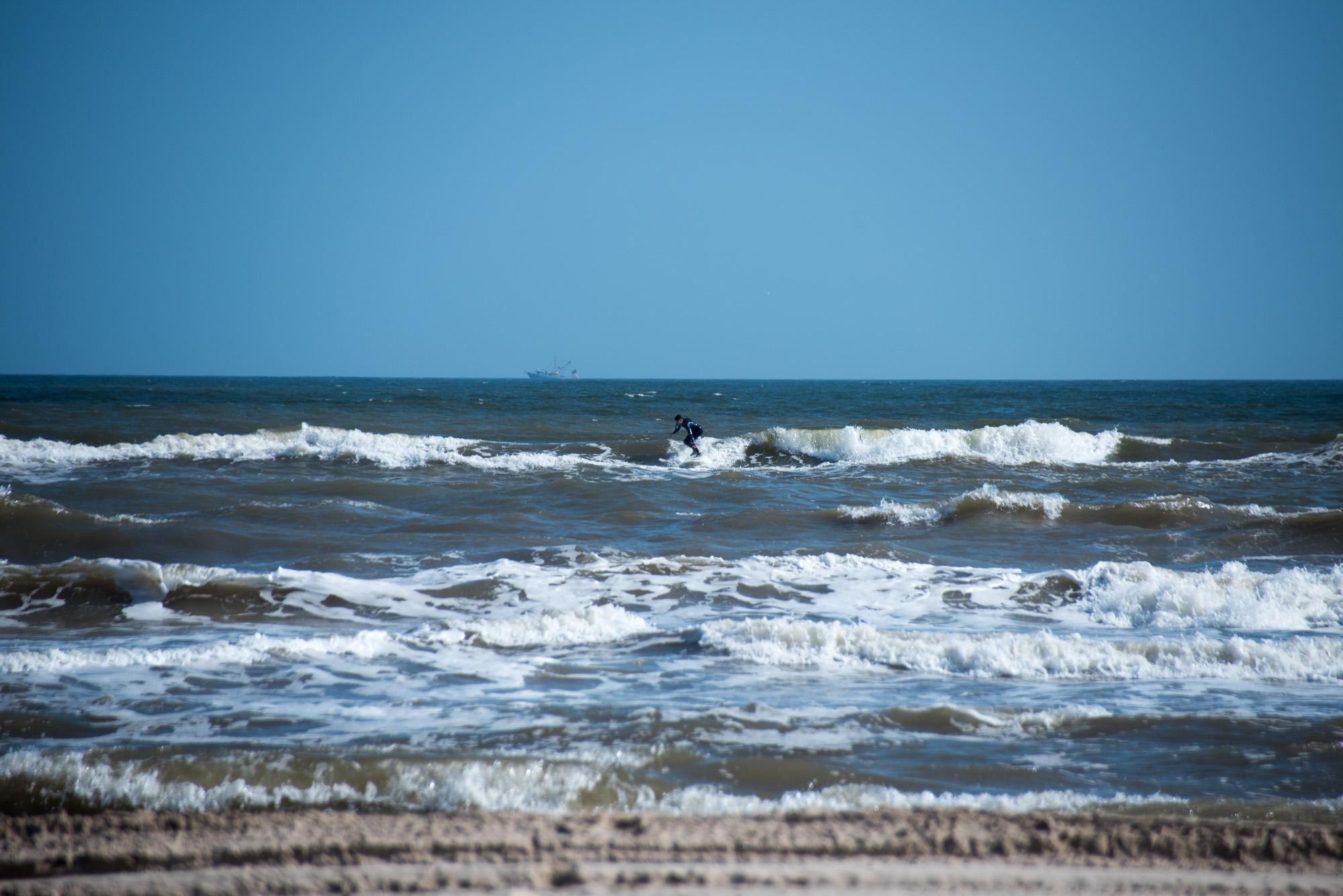 matagorda surfing in spring