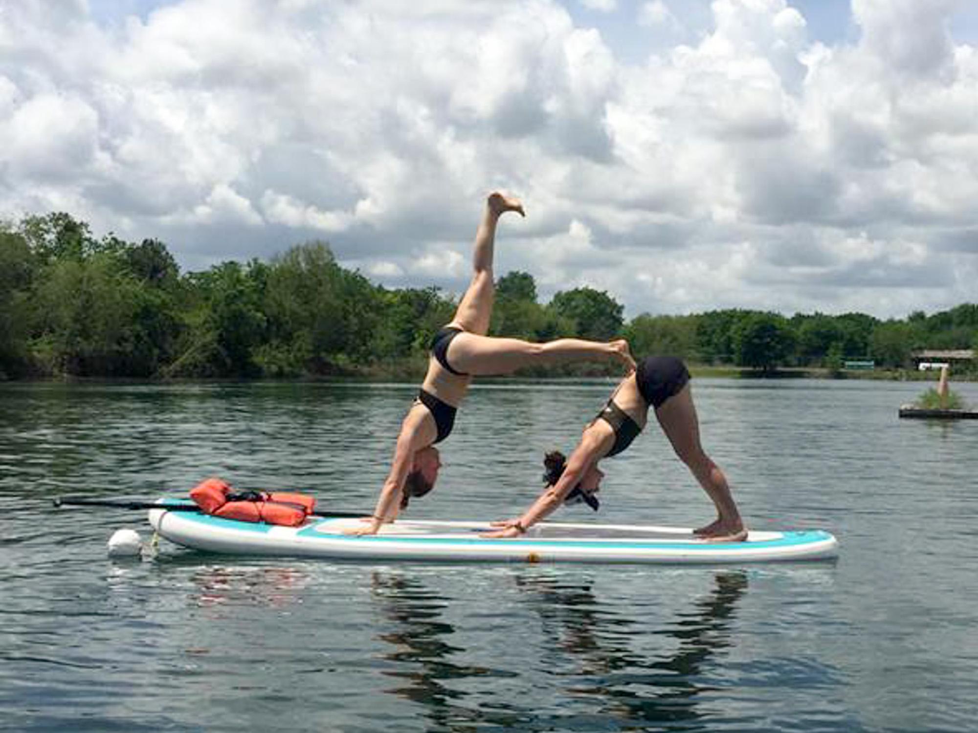 sup yoga photography tips