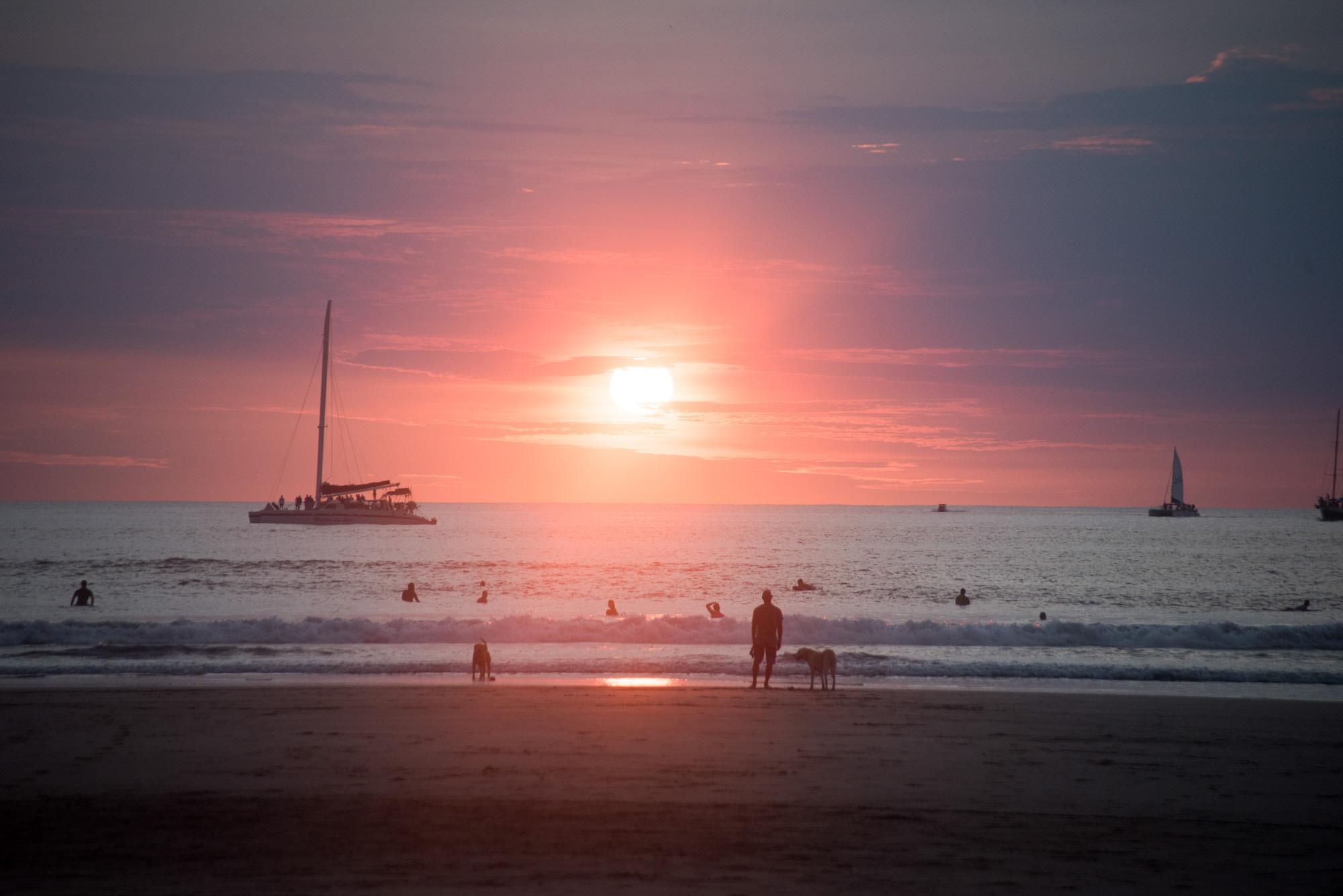 tamarindo sunsets